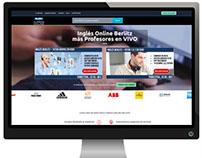 Diseño de Página web: Berlitz Online