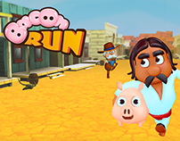 BaconRun - mobile game