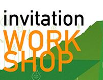 INVITATION DESIGN // ENVIRONMENT WORKSHOP