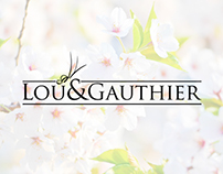 Lou&Gauthier · Visual Identity