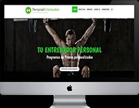 Diseño web para entrenadores personales