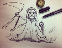 Cartoon death
