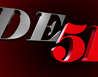 DE51 Films logo animation