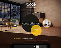 Website | Botik Revestimentos