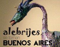 Alebrijes se toman Buenos Aires