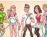 """Desatados"" (Comic)"