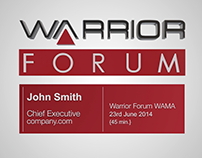 Warrior Forum Intro y Outro