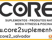 Nova Fachada das lojas Core2Suplementos