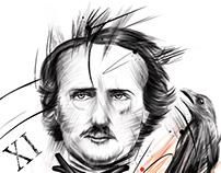 Ilustración Allan poe
