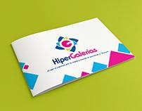 Brochure, folleto creado para C.C HiperGalerías