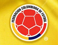 Web Federación Colombiana de Fútbol
