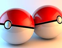 Pokeballs (3D modeling)