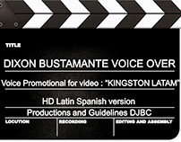 Commercial Voice for KINGSTON LATINOAMERICA
