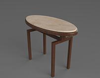 Corner Table Design
