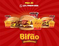Aplicações e Banners: Bifão Steakhouse