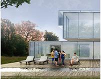Visualización anteproyecto arquitectonico