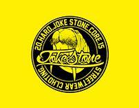 Branding / Print T-Shirt - Joke Stone