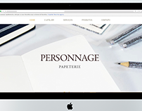 SITE CORPORATIVO, ESTILO PARALLAX SCROLL - Personnage