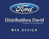 Ford - Web Design