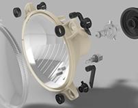 Plastic Injection Mold - Headlight