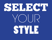 Select Your Style - Tênis