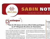 Jornal Liceu Albert Sabin