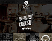 Website Don Barbearia