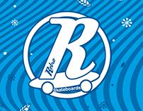 Diseños navideños para RETRO Skateboards.