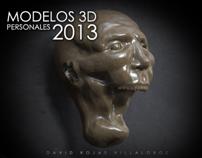 Modelos 3D - Personales - 2013