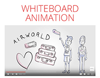 Airworld Travel Whiteboard Animation Video
