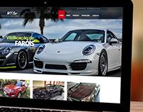 Site Loja de Estética Automotiva WT Car