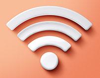Shopping Valinhos - Cartaz Wi-Fi Praça de Alimentação