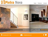 PietraNova - Diseño y desarrollo de Sitio Web
