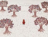 Entre los árboles
