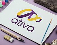 Logo Ativa Fisio e Pilates