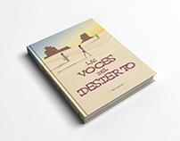 """Rediseño de cubierta de libro: """"Las voces del desierto"""""""