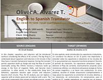 Sample Translation 2 (DC Circuit Analysis)