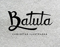 Batuta camisetas ilustradas (illustrated t-shirts)