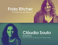 POSTER | Encontro com Frida Richter e Claúdia Souto