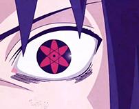 Mangekyou Sharingan Eye Animation