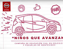 Nissan Safety Road Education Campaign
