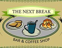 Banner tienda de café