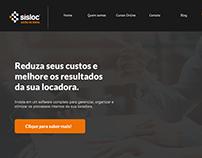 Site Sisloc - Redesign