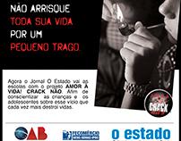 Anúncio para jornal, Projeto Amor á vida.