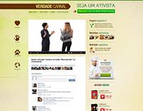 Landing Page Verdade Carnal