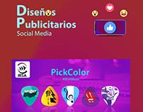 Publicidad, Diseños Social Media