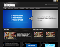 Web Design For La Bobina