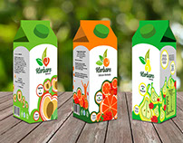 Herbare - Juice Box Packaging