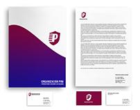 Organización PINI - diseño de marca y papelería