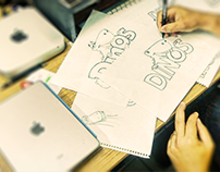 Dinos - Marca e Id. Visual
